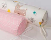 Bumper for the Toddler bed baby cot cushions Twin Single Full Queen size bed bolster crib pads house montessori bed bumpers long body pillow