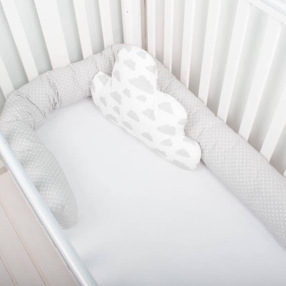 Baby Bed Bumper, Crib Bumper, Cot Bumper, Toddler Bed, Snake Pillow,  Protective Bumper, Nursery Decor Baby Cushion Nursing Pillow, Bolster