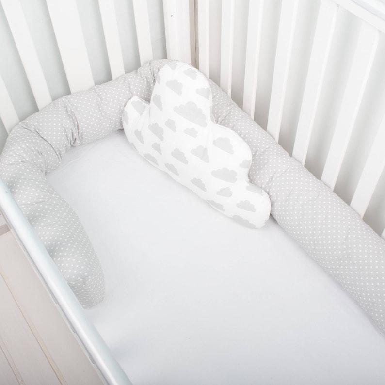 Baby Bed Wieg.Baby Bed Bumper Wieg Bumper Kinderbed Bumper Peuter Bed Etsy