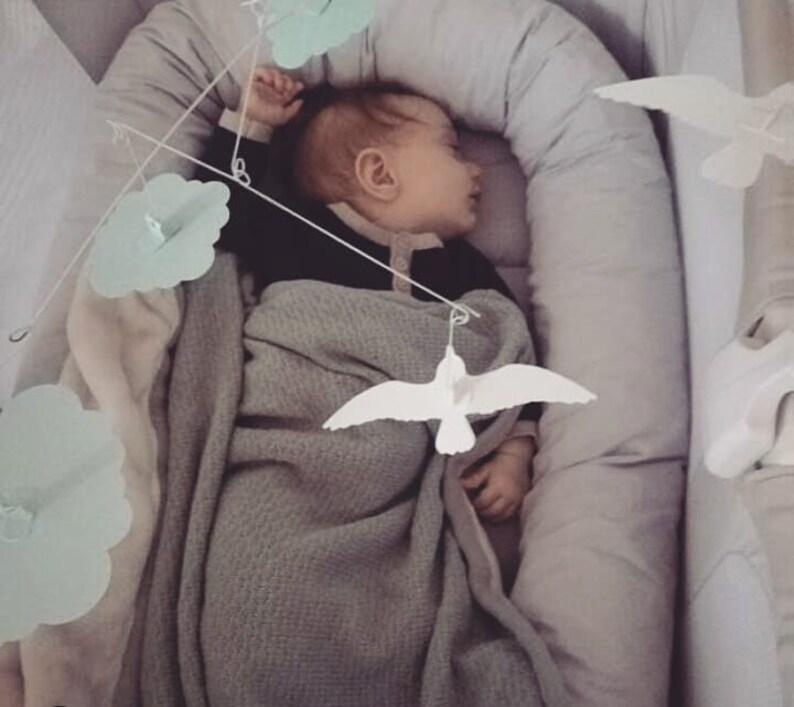 Baby Nest Bed Babynest Sleeper Cocoon Pod Newborn Snuggle Crib Bed Toddler Cot