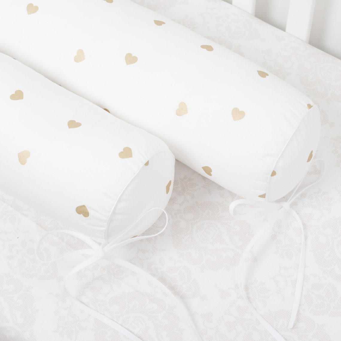 Set of 4 bolster pillows for the Twin size bed bumpers floor bed Full size teepee Montessori House cabin bumper pillows house cushions crib