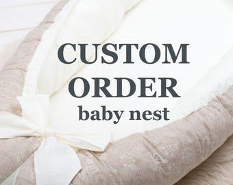 Portable Crib | Etsy