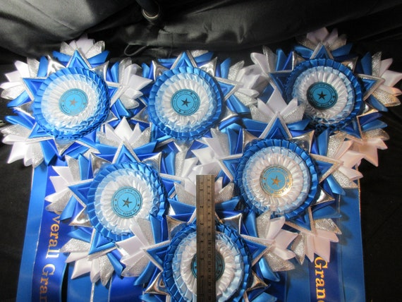 Well Done Rosettes Dog Horse Show Birthday Party Awards Prizes