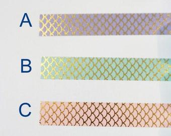 Washi Tape Samples, Washi Tape Sample, Mermaid Washi Tape, Holo Washi Tape, Purple Washi Tape, Pink Washi Tape, Green Washi Tape, Polka Dot