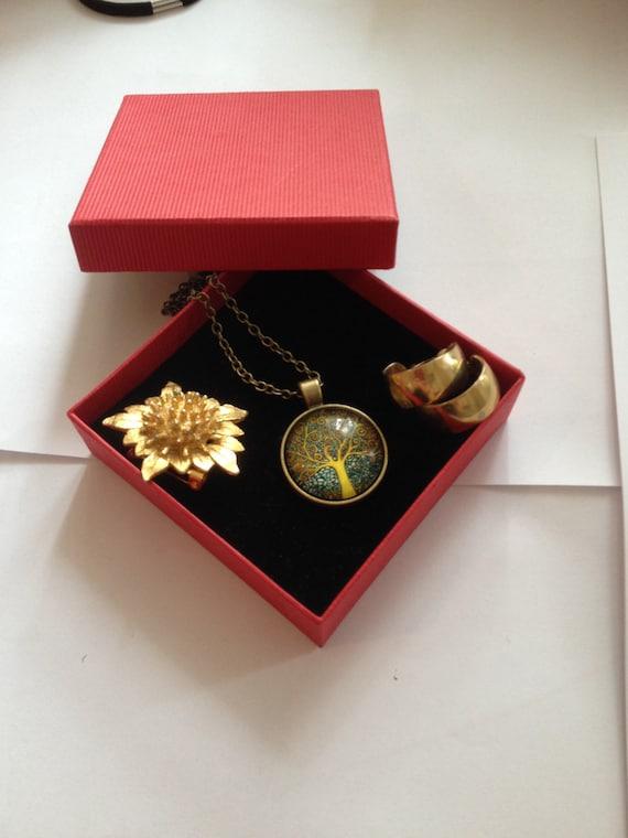 SALE - Vintage Jewelry Set, Gift set for Granny, g