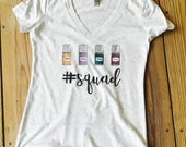 Essential Oil Shirt Oil Squad