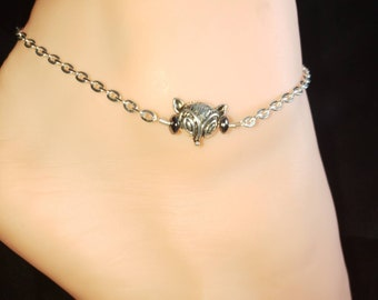 NEW** Vixen Hotwife Anklet, Initial Jewelry, Personalized Jewelry, Sexy Anklets, Swinger Jewelry, Kinky