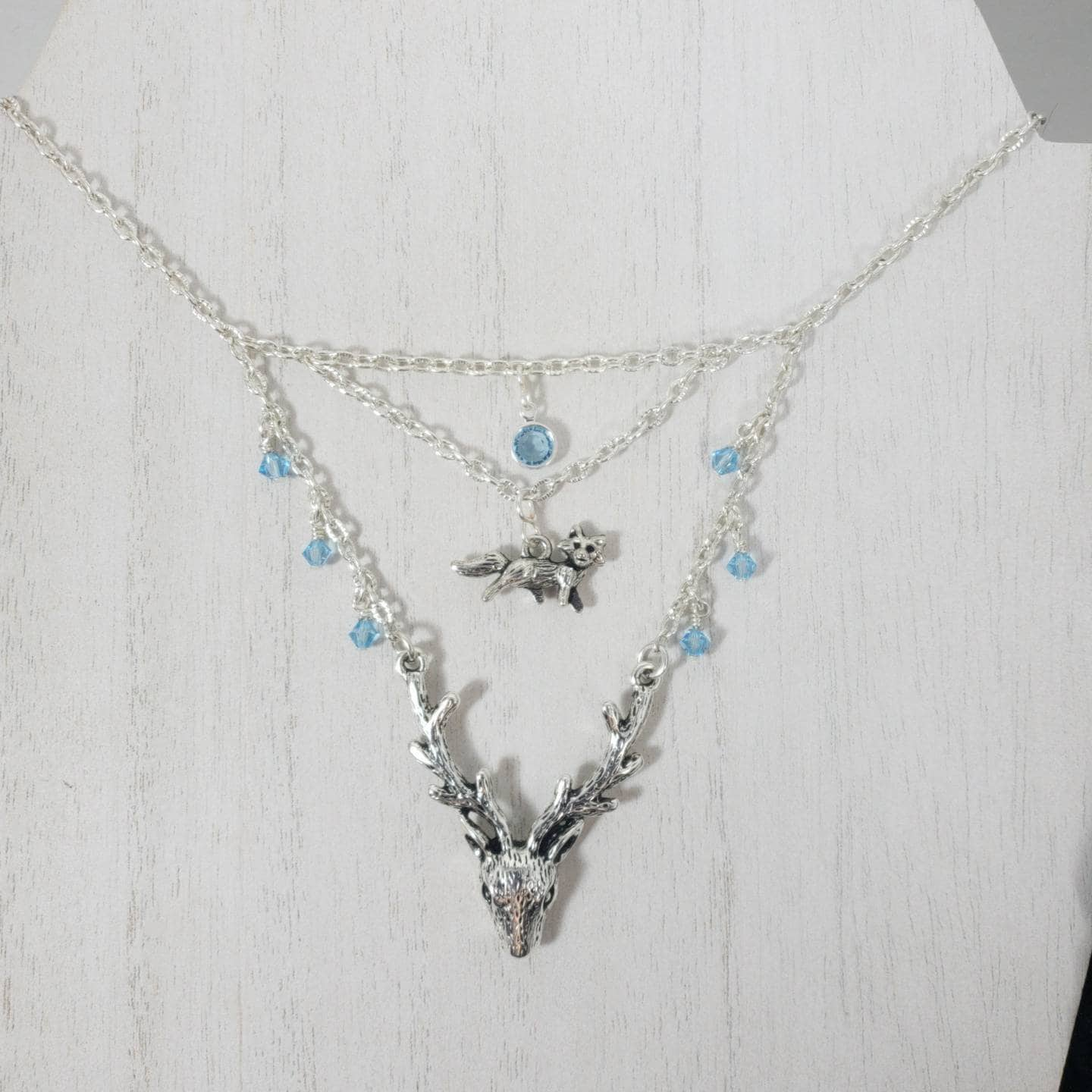 Vixen And Stag Necklace Hotwife Kinky Lifestyle Jewelry Etsy