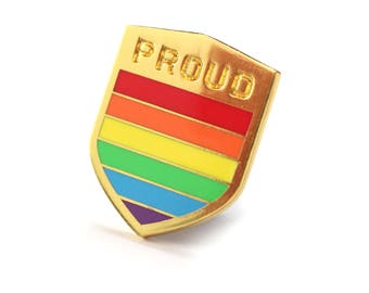 Pride enamel pin, Gay lapel pin, Rainbow pin, Pride parade accessory, Lgbtq decoration, Gay flag, LGBT community, LGBT flag pin, Gay support