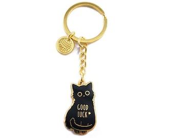 Cat Keychain Etsy