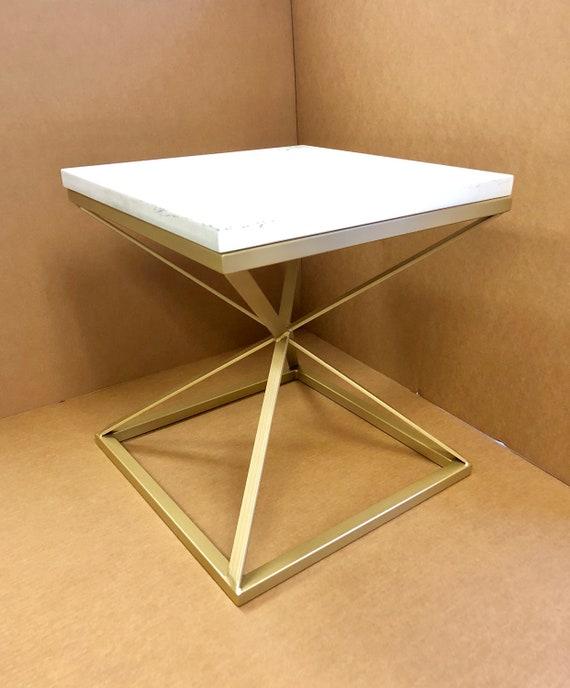 Pyramid Coffee Table Base Modern Coffee Table Base Side Etsy
