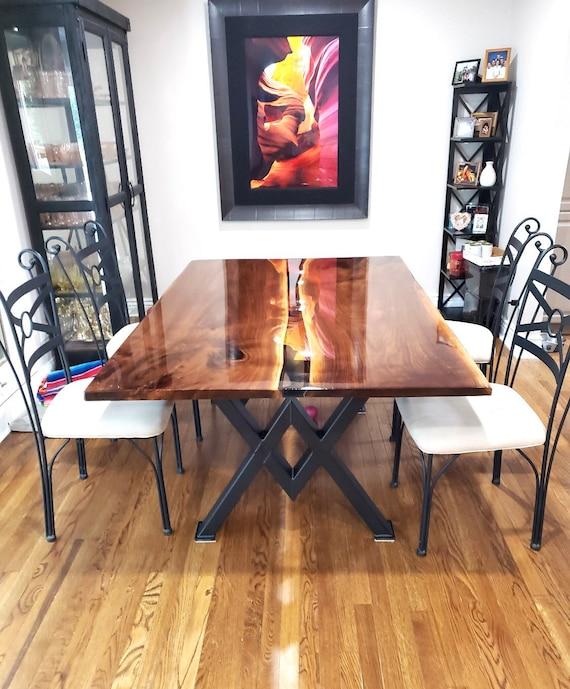 Diamond Dining Table Legs Industrial, Dining Room Table Legs