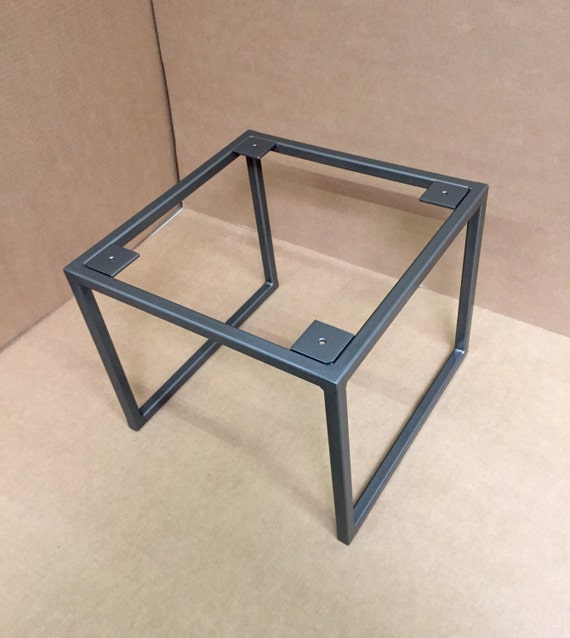 Design Square Coffee Table Base, Industrial Square Base