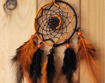 DREAM catcher black orange DREAMCATCHER