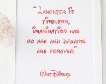 Walt Disney Quote Etsy