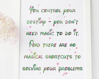 Rapunzel Quote Tangled Quote Disney Quotes Print Rapunzel Etsy