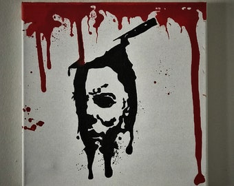 Michael Myers - Original acrylic painting on canvas