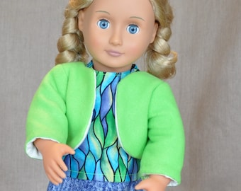 """3 piece outfit for 18"""" dolls,  fits American Girl and similar dolls."""