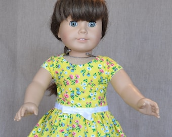 """Very cute legging outfit for 18"""" dolls, fits American Girl and similar dolls."""