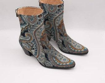 Tribal ethnic boots   Etsy