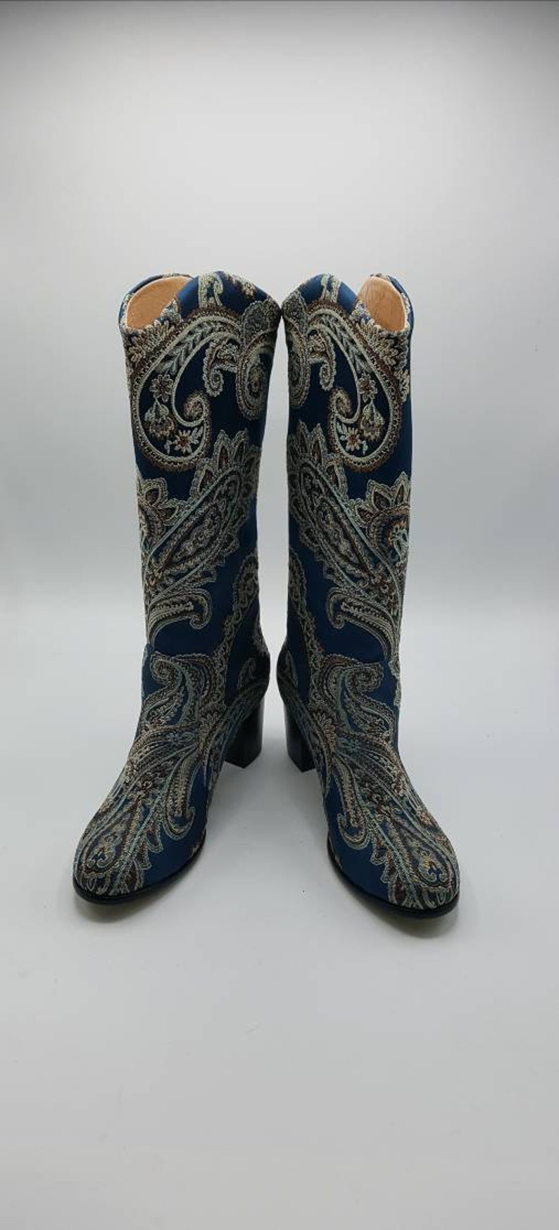 FREE SHIPPING Custom Boots Chic Knee High Leather Women Boots