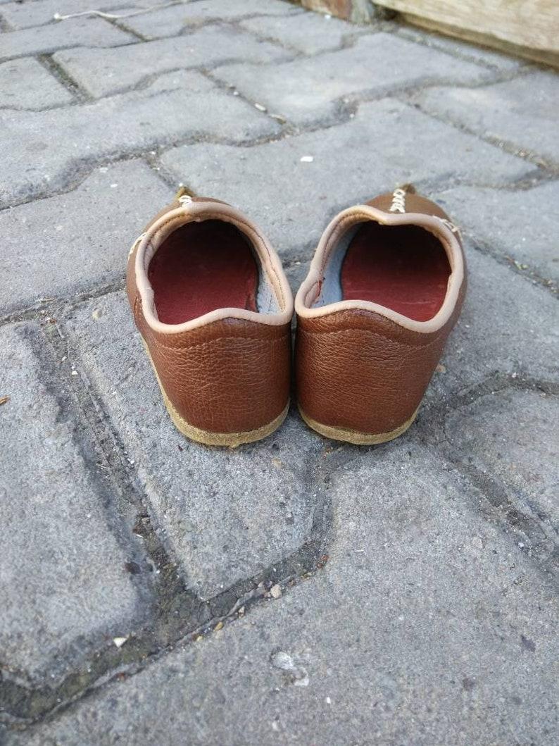 Handmade Genuine Leather Sof Flexible Custom Made Boy/'s Shoes