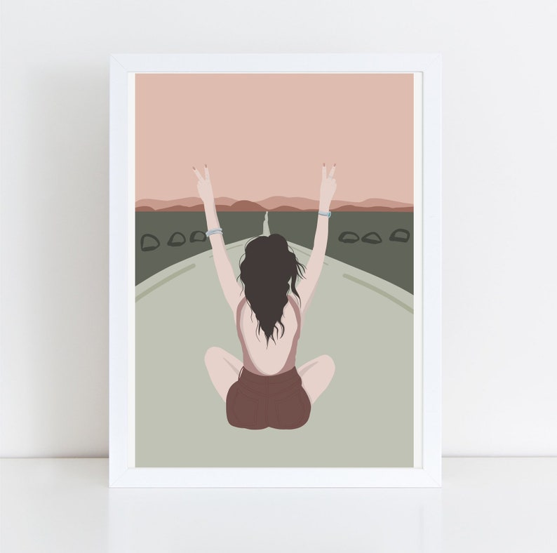 Giclee Print illustration  thick 100% image 0