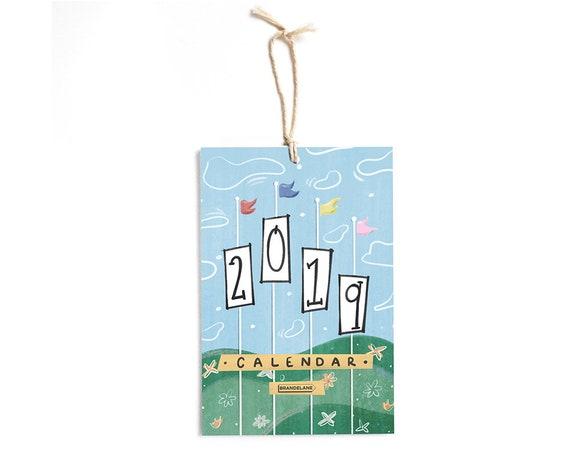 2019 Calendar Best Friend Gift Co Worker Disney Lover