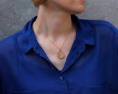 Handmade wooden necklace ...