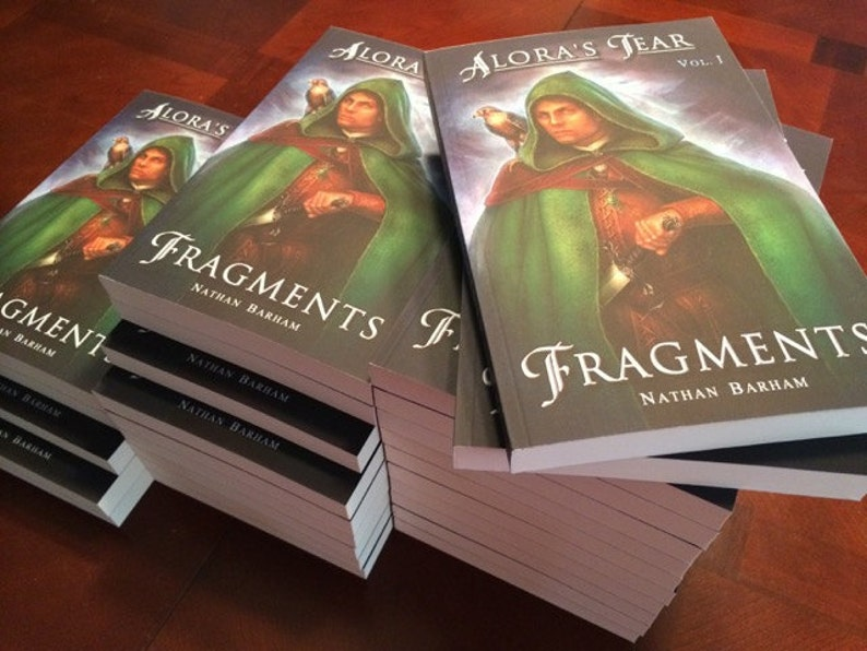 Alora's Tear Vol I: Fragments Signed and Hand Packaged image 0