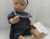 Goetz Puppe Denis Doll Made in Germany by Sylvia Natterer Posable German Baby Doll