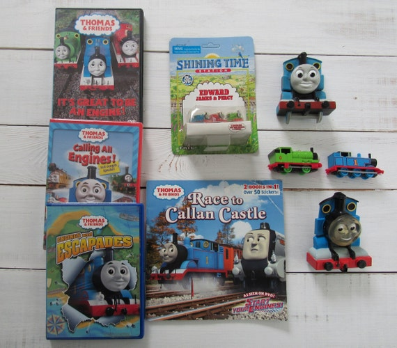 RARE Thomas the Tank Engine Train Kids Birthday Party Thank You Notes Cards