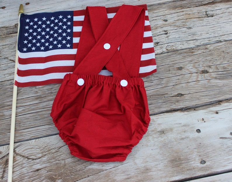 3fc31e811720 Suspender Bloomers Baby Bloomers Unisex Bloomers 4th of