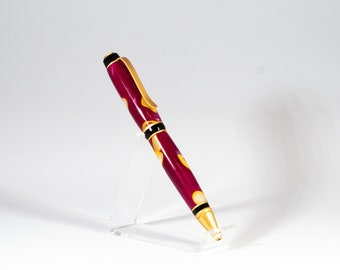 Handturned Custom Pen Acrylic Pen Ectoplasm Ballpoint Pen Christmas Gift Ballpoint Acrylic Pen Acrylic Click Pen Pen Gift