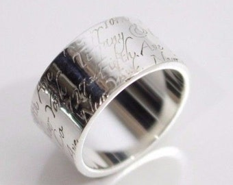 21f9e3070 Gorgeous Authentic Tiffany & Co. Notes Collection Sterling Silver Band Ring  - Size 6