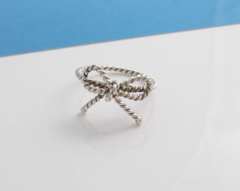 dcda42806342d Tiffany bow ring | Etsy