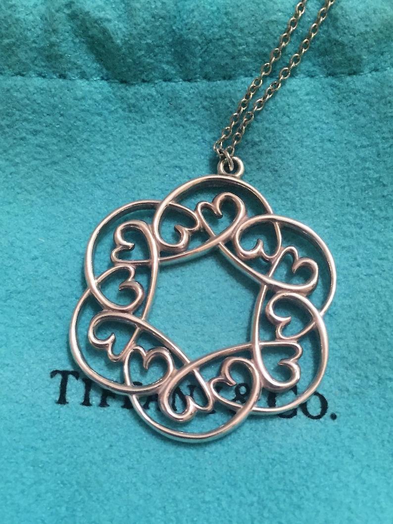 bd761b67c RARE LIKE NEW Tiffany & Co Sterling Paloma Picasso Loving | Etsy
