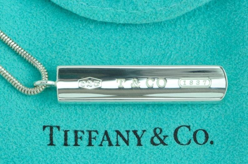 ca3f19da6 Stunning Authentic Unisex Tiffany & Co Sterling Silver 1837   Etsy