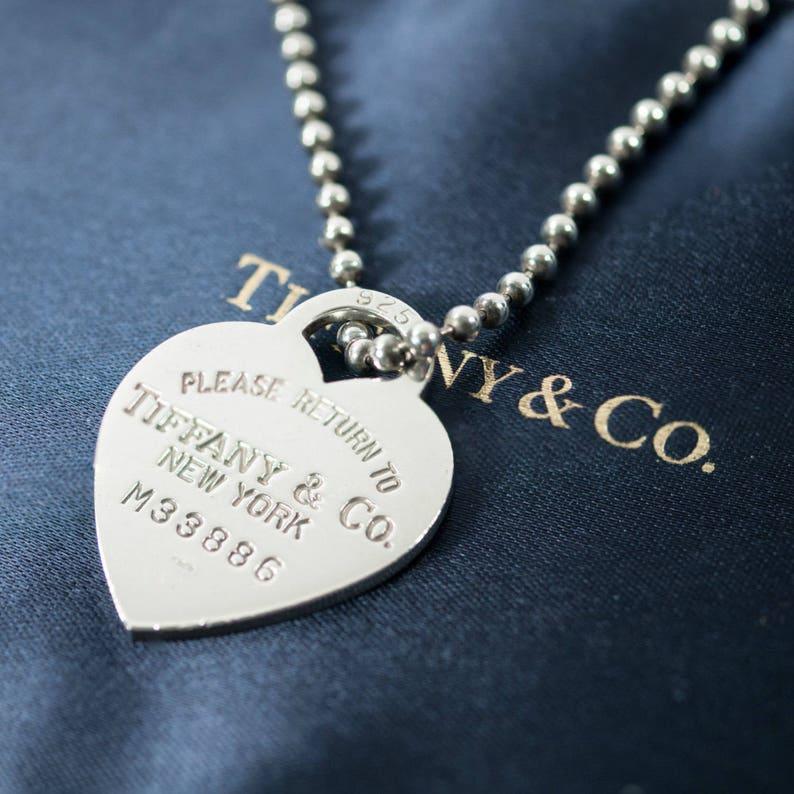 601d7a2aa SALE LIKE NEW Tiffany & Co. Return to Tiffany Heart | Etsy