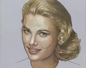 Grace Kelly Portrait - Original Art