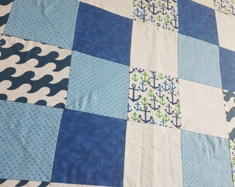 Baby quilt blanket play mat