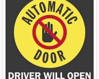 Automatic Door Etsy