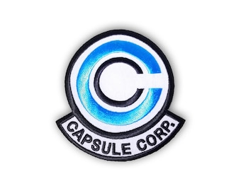 Capsule Corp patch: BLUE