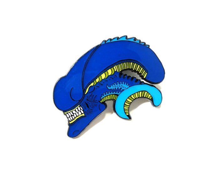 XENOMORPH Head pin