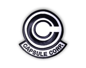 Capsule Corp patch: ORIGINAL
