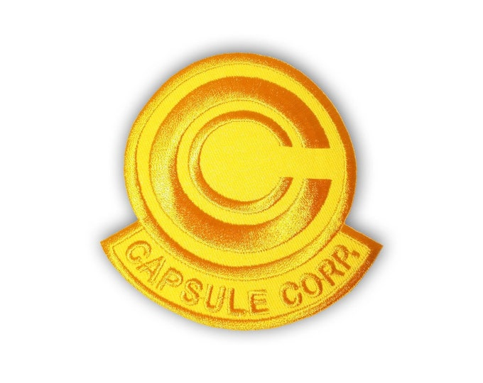 Capsule Corp patch: GOLD