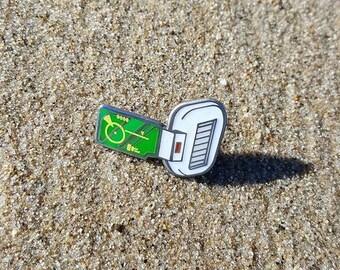 Dragonball Z Green Scouter pin
