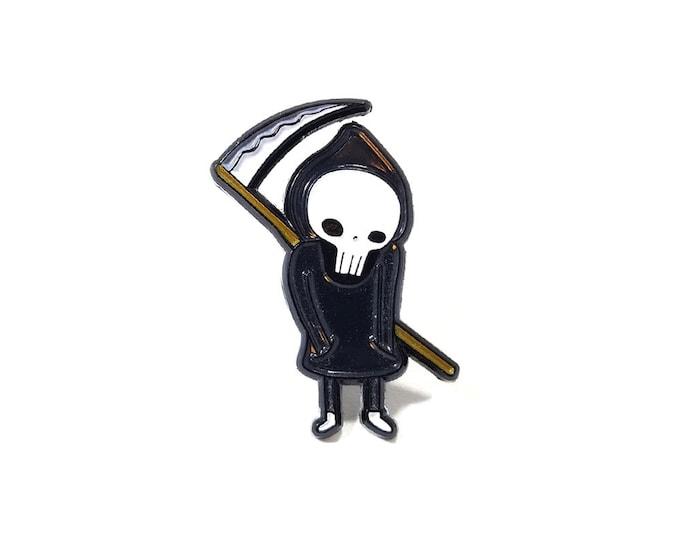 Little Death lapel pin