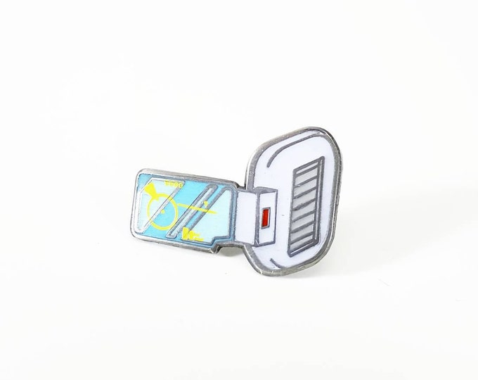 Blue Scouter pin (Dragonballz)