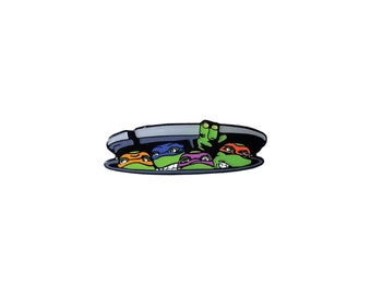 TMNT Brothers pin